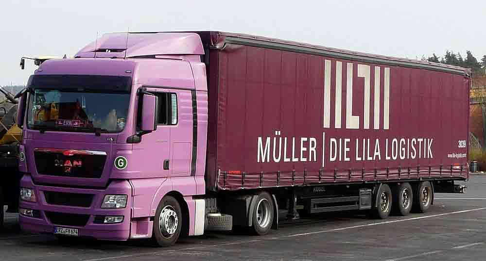 Müller Lila Logistik